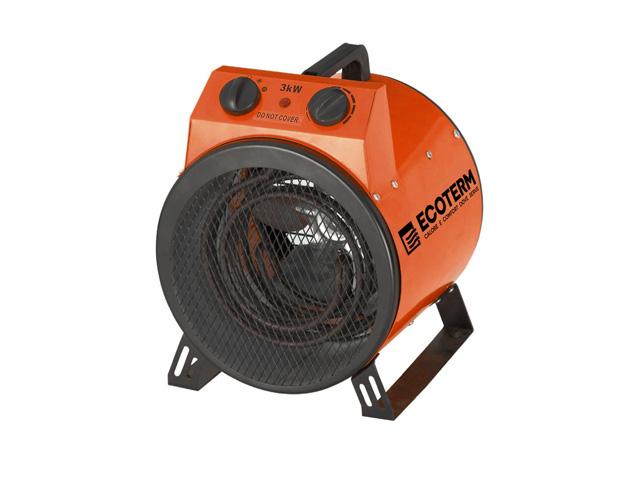 Нагреватель воздуха электр. Ecoterm EHR-02/1A, пушка, 2 кВт., 220В