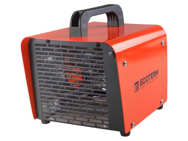 Нагреватель воздуха электрический Ecoterm EHC-02/11, кубик, 1 ручка, 2 кВт., 220В (кубик, 2 кВт, 220 В, вес 2 кг)