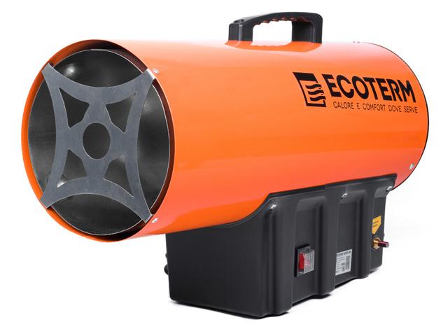 Нагреватель воздуха газовый Ecoterm GHD-50 прямой, 50 кВт, переносной