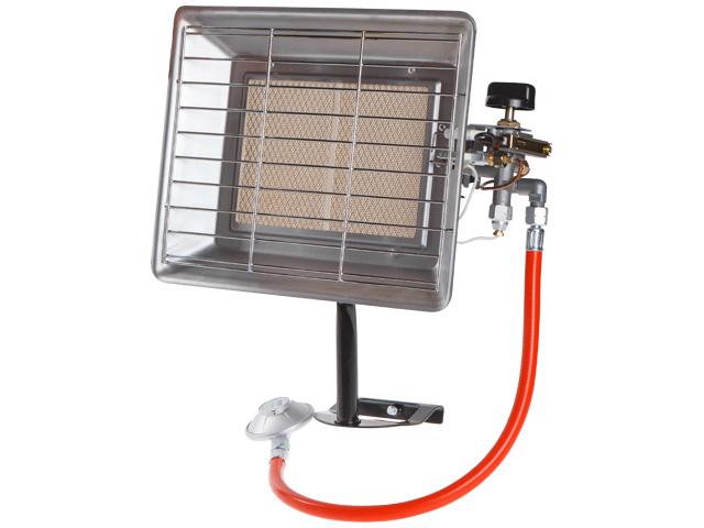Нагреватель воздуха газовый инфракрасный Ecoterm RH 5000-2 (5 кВт, вес 2 кг, пьезоподжиг)