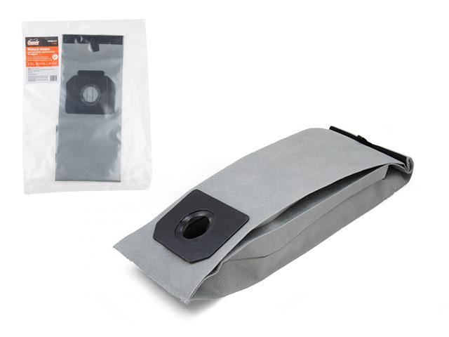 Мешок для пылесоса BOSCH GAS 15, 20 многоразовый (липучка) GEPARD (Синтетический.)