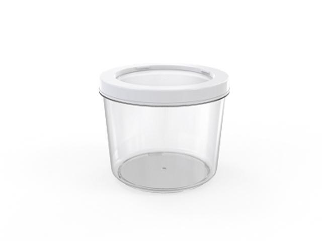 Контейнер Cake, 0,75 л, прозрачный, BEROSSI (Изделие из пластмассы. Литраж 0,75 л)