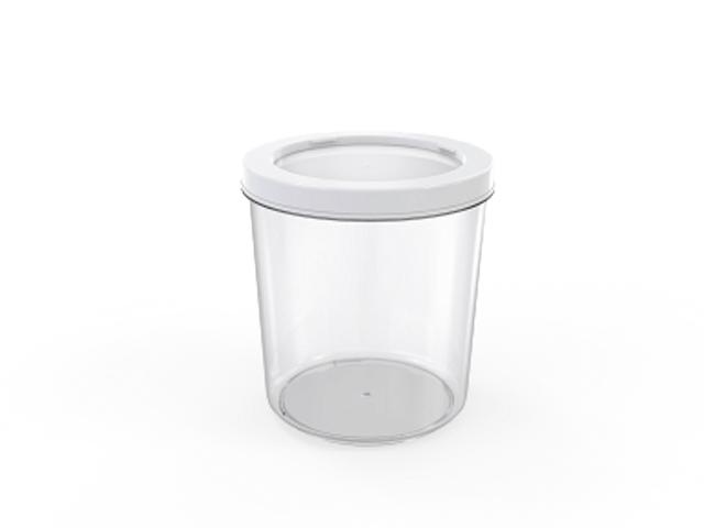 Контейнер Cake, 1 л, прозрачный, BEROSSI (Изделие из пластмассы. Литраж 1 л)
