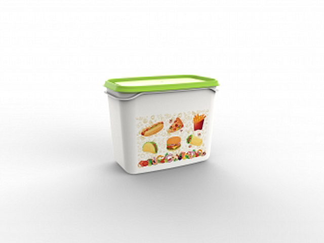 Контейнер Good day, 1 л, салатный, BEROSSI (Изделие из пластмассы.   Размер 160 х 101 х 123 мм)