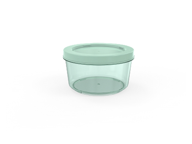 Контейнер Cake, 0,5 л, мята полупрозрачныйй, BEROSSI (Изделие из пластмассы. Литраж 0,5 л)