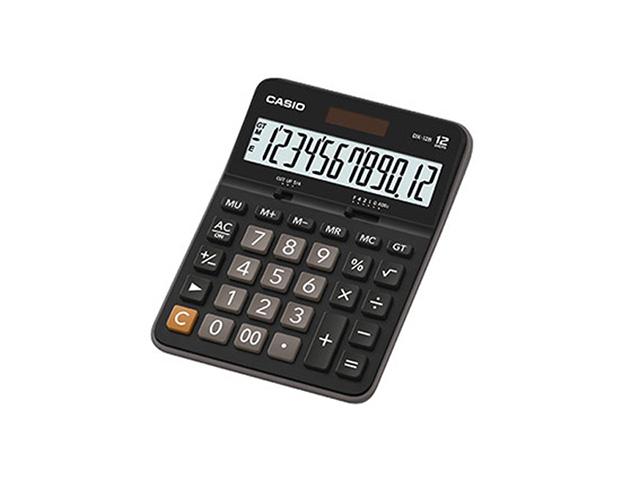 Калькулятор CASIO DX-12B 12 разр. черный бухгалтерский
