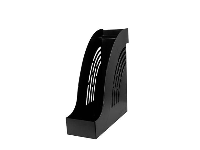 Лоток вертик. inФОРМАТ 95 мм черный пластик