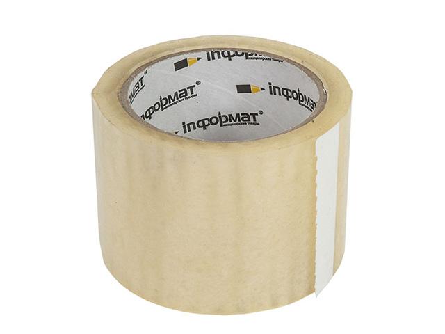 Клейк.лента упак. inФОРМАТ 72 мм 57,00 м 45 мкм прозр.