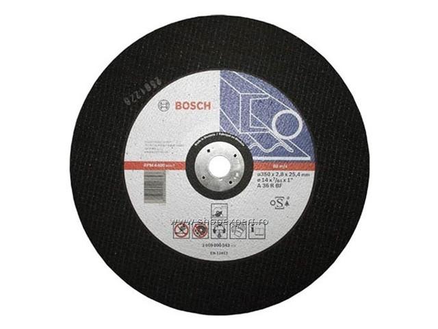 Круг отрезной 355х2,8х25,4 мм для металла BOSCH