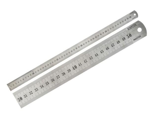 """Линейка измерительная 500мм STARTUL """"MASTER""""(ST3500-050) (быт.)"""