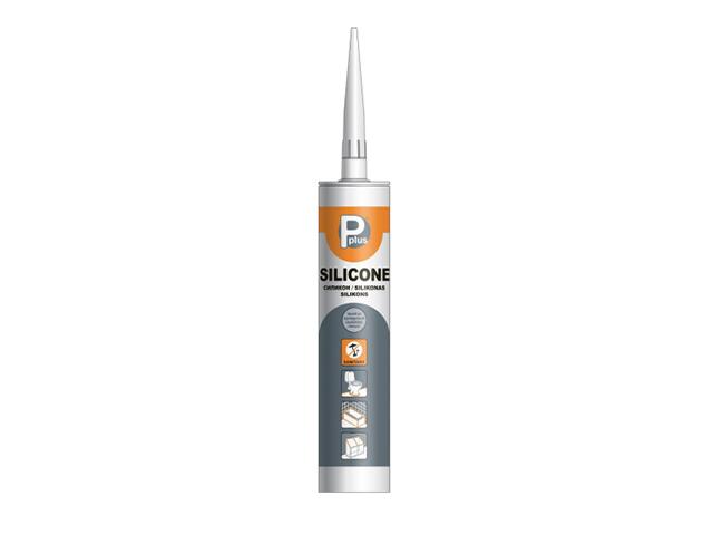 """Герметик силиконовый  P PLUS """"Silicone Sanitary"""" (бесцв.) 260мл"""