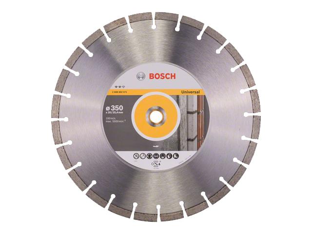 Алмазный круг 350х20/25,4мм универсальный Expert (BOSCH)