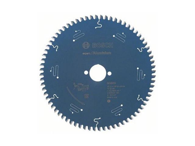 Диск пильный 210х30 мм 72 зуб. по алюминию EXPERT FOR ALUMINIUM BOSCH (твердоспл. зуб)
