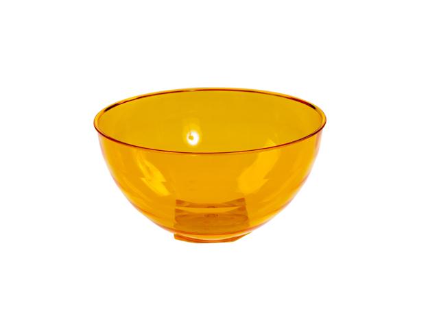Салатник Florencia (Флоренция) 1 л, оранжевый полупрозрачный, BEROSSI (Изделие из пластмассы. Литраж 1 л)