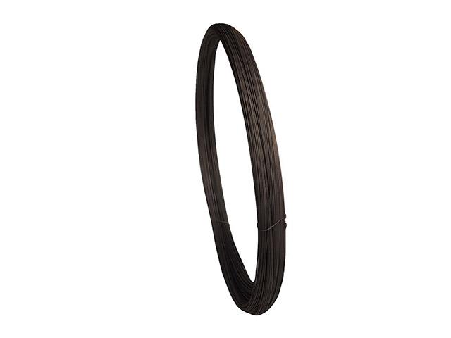 Проволока вязальная черная ф1.2мм (бухта 3кг) (ГОСТ 3282-74) (ПРОСТ)