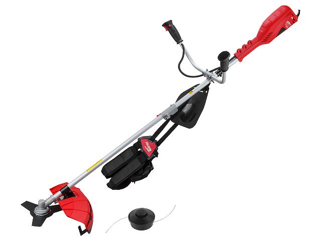 Триммер WORTEX TE 4217 S (1.50 кВт, 42 см (леска), 25.5 см (нож), плавный пуск, велосипедная рукоятка, вес 5.65 кг)
