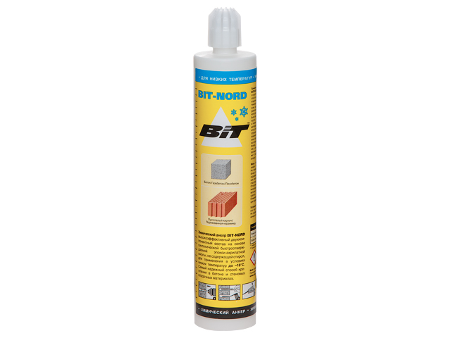 Химический анкер BIT-NORD 300мл (монтаж до -18°С) (75720)