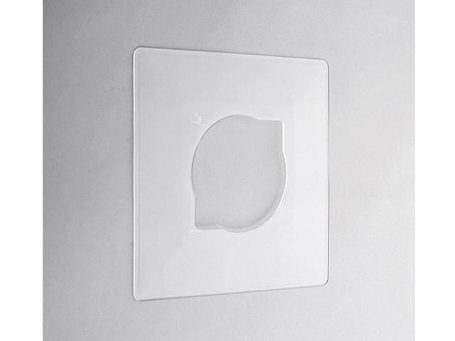 Рамка 1-местная декоративная прозрачная (розн. упаковка) Bylectrica (Рамка декоративная (накладка под выключатель) прозрачная Гарантийный срок:24 меся