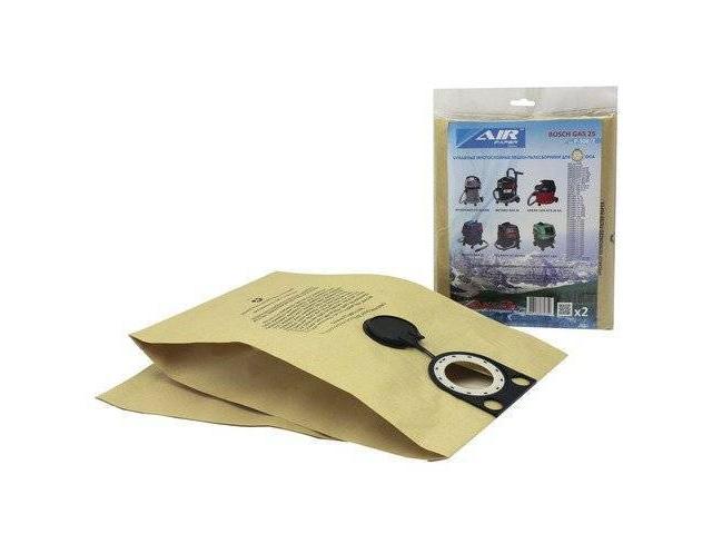 """Мешок для пылесоса """"AIR paper""""  (бумажный до 36л) для GAS 25 (2 шт) (2 штуки в упаковке) (AIRPAPER)"""