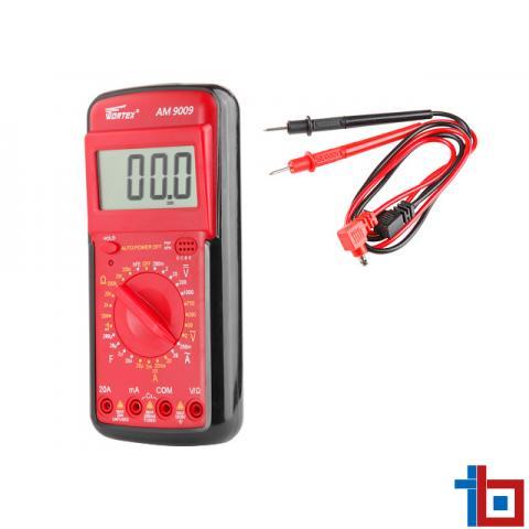 Мультиметр цифровой WORTEX AM 9009